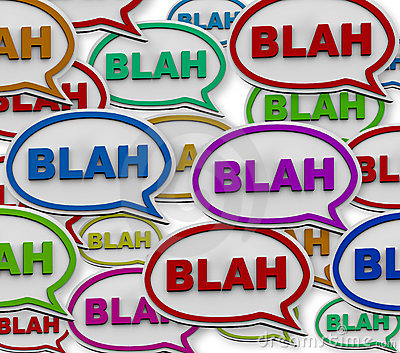 Blah - Speech Bubble Background Stock Photography - Image ...