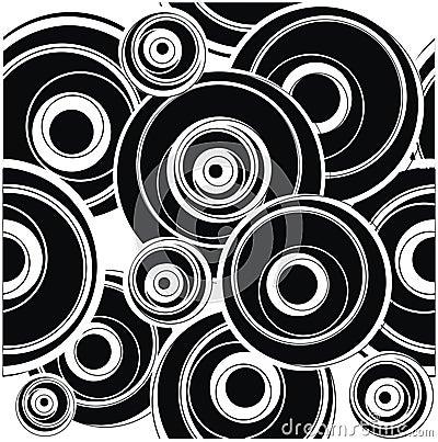 Blak circle pattern