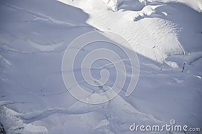 Blanc mont widok