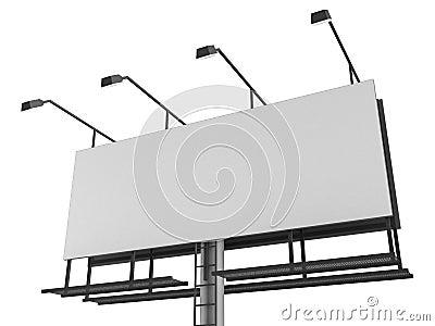 Blanck sign
