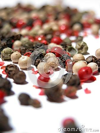 Blandad peppar