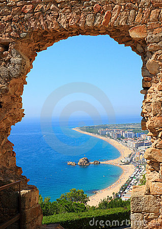 Blanes view (Costa Brava, Spain)