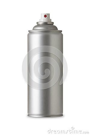 Free Blank Aluminum Spray Paint Can, Realistic Photo Image Royalty Free Stock Images - 28215879