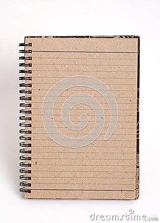 Blank anteckningsbok