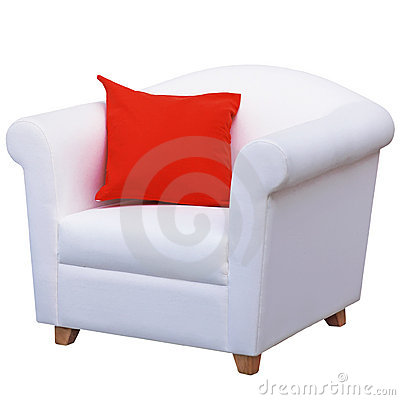 Blank armchair