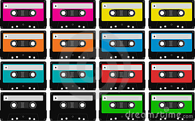 Blank audio tape cassettes
