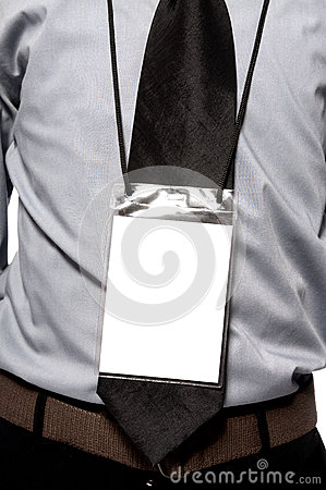 Blank Badge On Torso