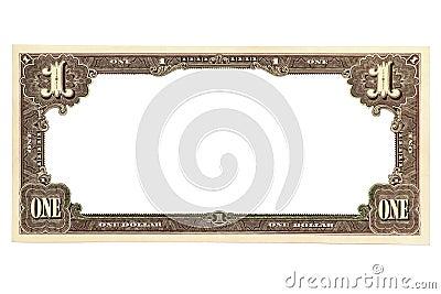 Blank Banknote