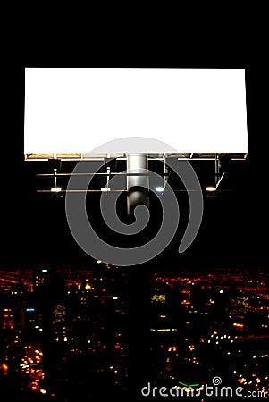 Free Blank Billboard And City Stock Photos - 10460713