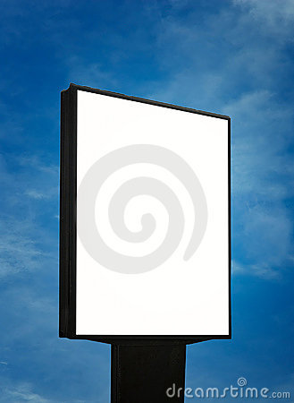 Free Blank Billboard, Just Add Your Text Stock Photos - 5888353