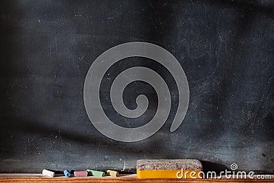 Blank blackboard with Light  Effect