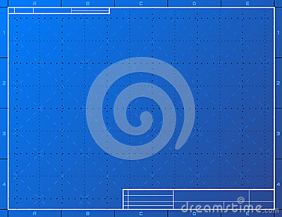 Blank Blueprint Paper For Drafting Royalty Free Stock Images Image 36974069