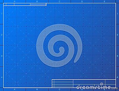 Blank blueprint paper for drafting cartoon vector cartoondealer blank blueprint paper for drafting vector illustration malvernweather Images