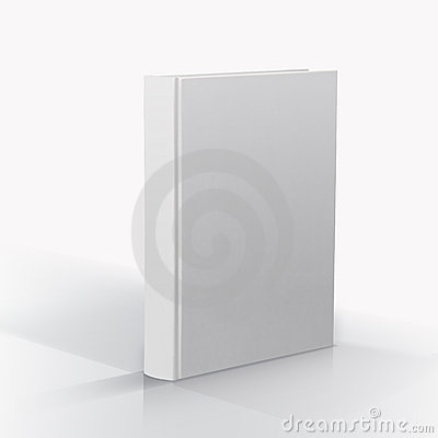Free Blank Book Royalty Free Stock Photography - 8598187