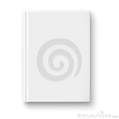 Free Blank Book Template With Soft Shadows. Royalty Free Stock Image - 34836866