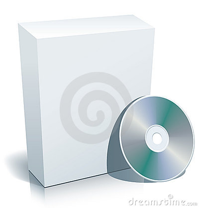 Free Blank Box And Disc Stock Photo - 2638490