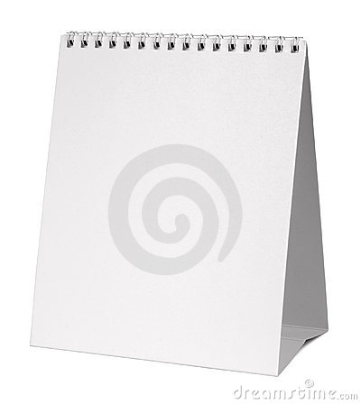 Free Blank Calendar Stock Photography - 15868982