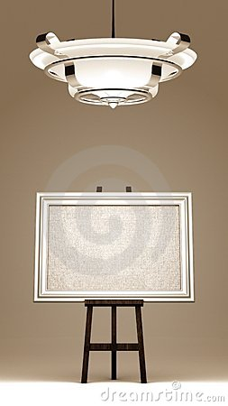 Free Blank Canvas Framed Stock Photo - 20583750
