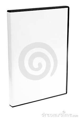 Free Blank Case DVD / CD White Background Royalty Free Stock Image - 4652226