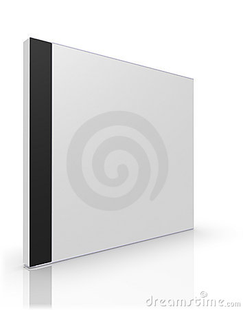 Free Blank CD/DVD Case Stock Image - 8293901