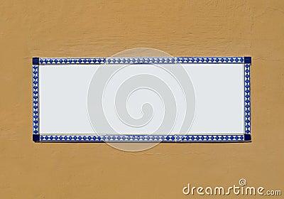 Blank Ceramic Tile
