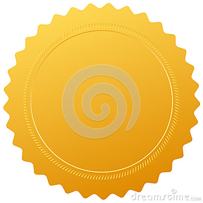 Blank certificate seal