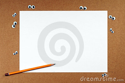 Blank color paper