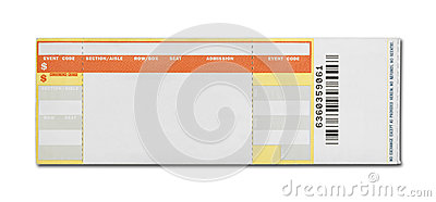 Concert Ticket Royalty Free Image Image 35209156 – Blank Concert Ticket Template