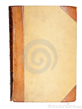 Free Blank Cover Of 19-th Century Book Royalty Free Stock Photos - 18431268