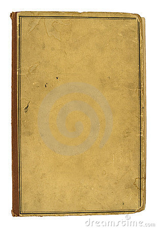 Blank Cover Of Old Book Royalty Free Stock Photos - Image ...