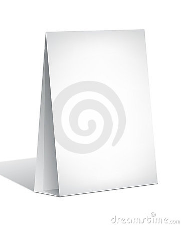 Blank Display Stand