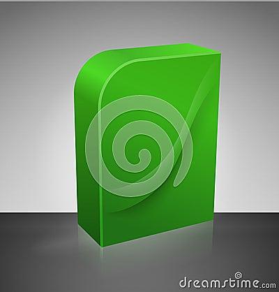 Blank dvd box