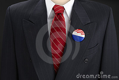 Blank election Pin