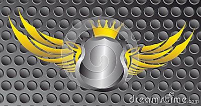 Blank emblem
