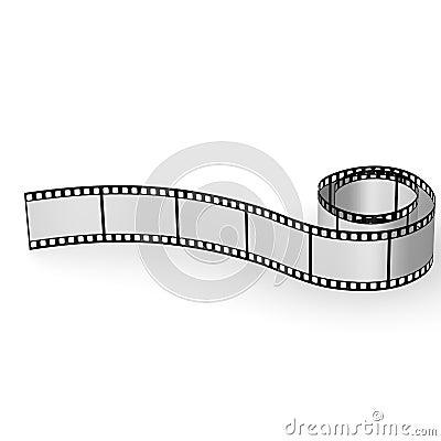 Blank film tape