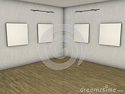 Blank gallery