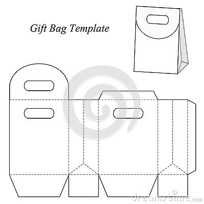 Stock Illustration Blank Gift Bag Template Round Lid Vector Illustration Box Box Image48154666 on telephone lines