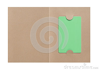 Gift Card in paper cover