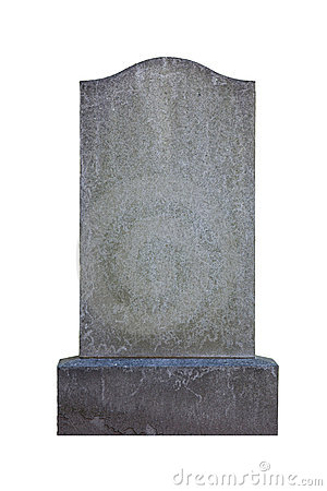 Free Blank Gravestone Stock Photography - 10665482