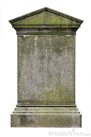 Free Blank Gravestone Royalty Free Stock Photos - 8304828