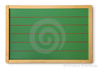 Blank Green Chalkboard Stock Photos - Image: 9163033