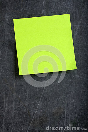 Blank Green Postit Post-it Blackboard