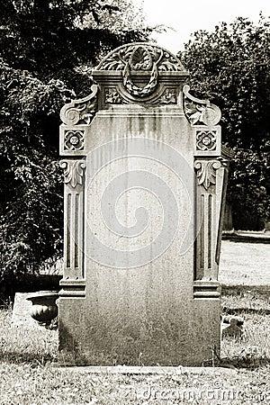 Free Blank Headstone Stock Photography - 32025632