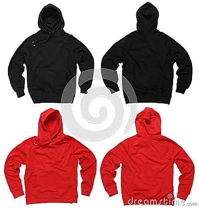 Free Blank Hoodie Sweatshirts Stock Image - 21537321