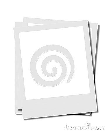 Free Blank Instamatic Photos Royalty Free Stock Photos - 142498