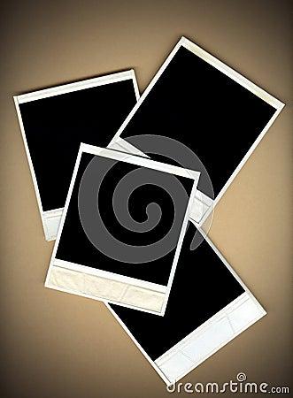 Blank Instant Photo Frames