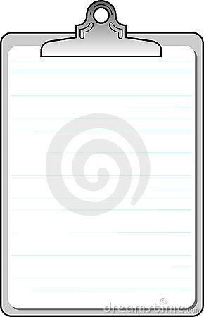 Blank lined notebook background