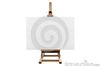 Blank marketing  canvas