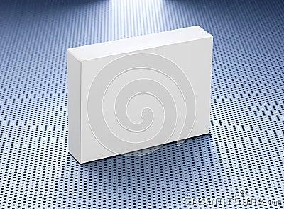 Blank Medicine Product Box