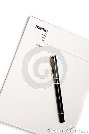 Free Blank Memo Pad Notebook Royalty Free Stock Photos - 10481538